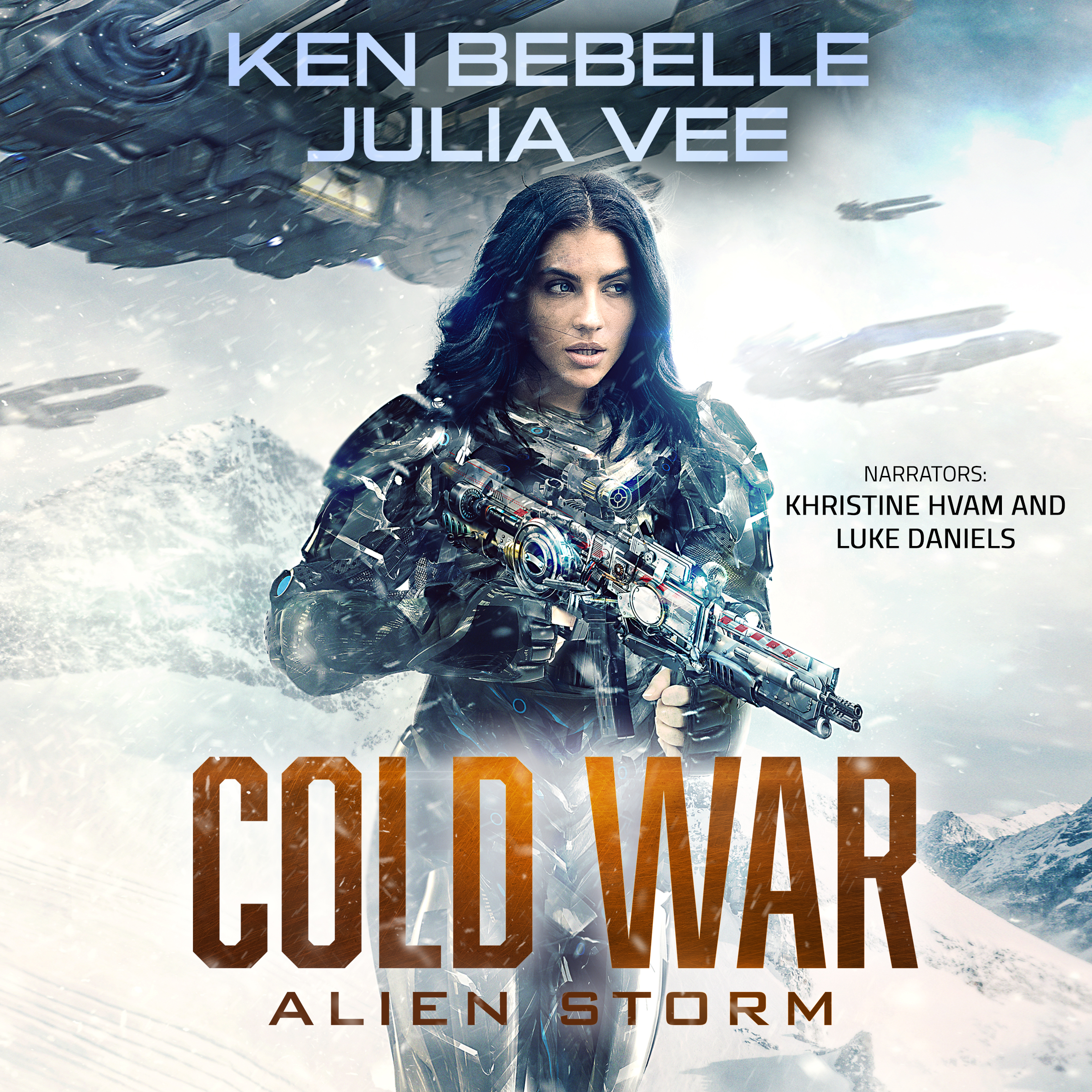 Alien Storm audio cover